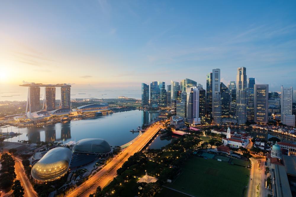singapur przesiadka