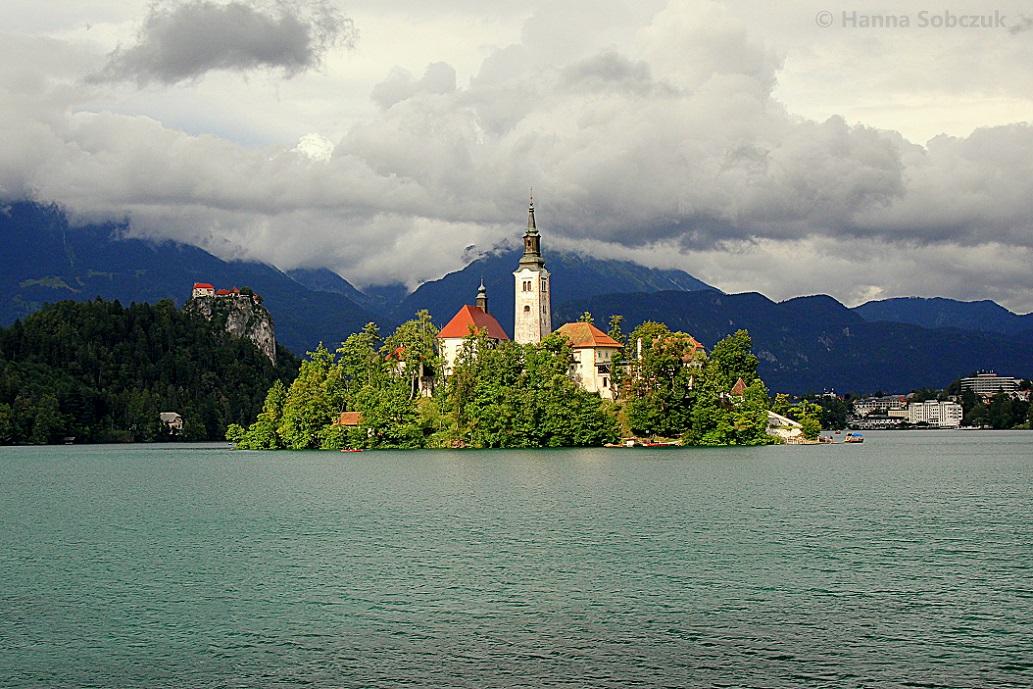 slovenia bled lake visit church
